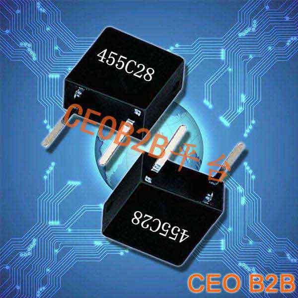 陶瓷晶振,陶瓷插件晶振,455C28晶振