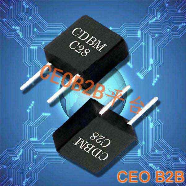 陶瓷晶振,陶瓷谐振器,CDBMC28晶振