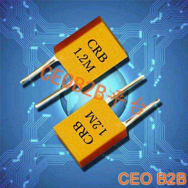 陶瓷晶振,插件谐振器,CRB1.2M晶振