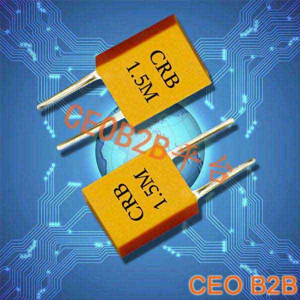 陶瓷晶振,压电陶瓷谐振器,CRB1.5M晶振