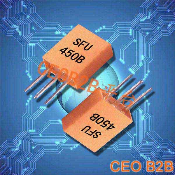 陶瓷晶振,声表面滤波器,SFU450B晶振