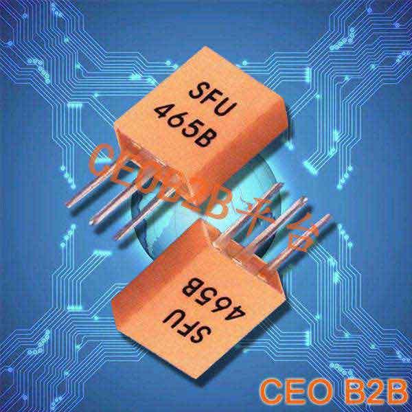 陶瓷晶振,插件陶瓷晶振,SFU465B晶振
