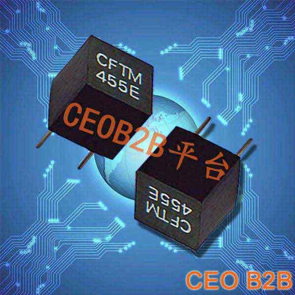 陶瓷晶振,声表面滤波器,CFTM455E晶振