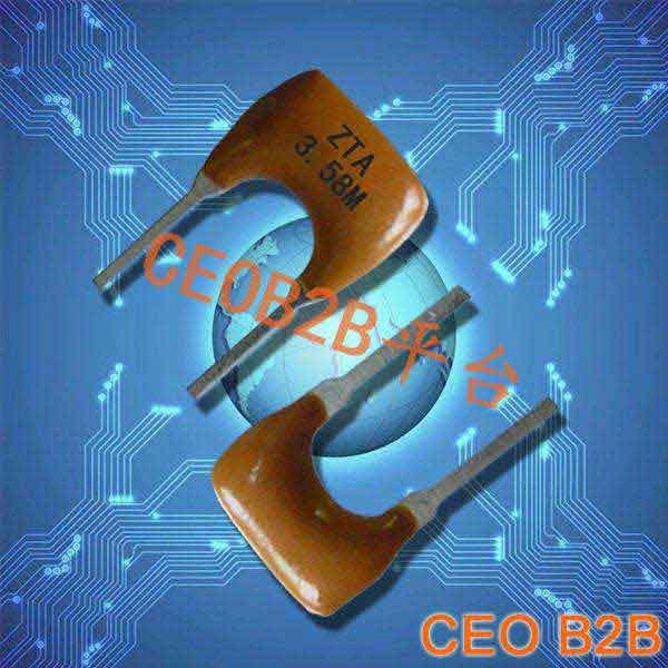 陶瓷晶振陶瓷谐振晶振,ZTA3.58M晶振