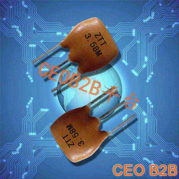 陶瓷晶振,陶瓷谐振器,ZTT3.58M晶振
