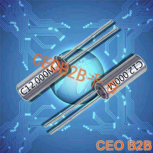 石英晶振,插件晶振,3×9晶振