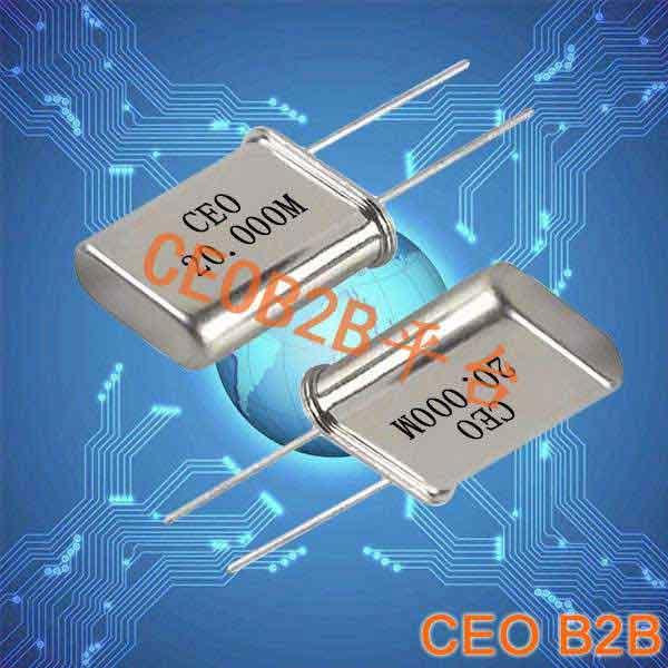 石英晶振,插件石英晶体谐振器,49U晶振