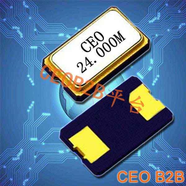 石英晶振,压电晶振,6035两脚晶振