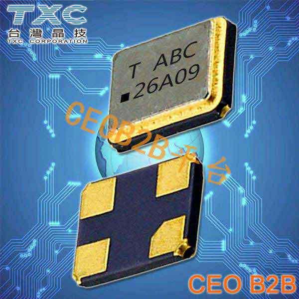 TXC晶振,温补晶振,8P晶振