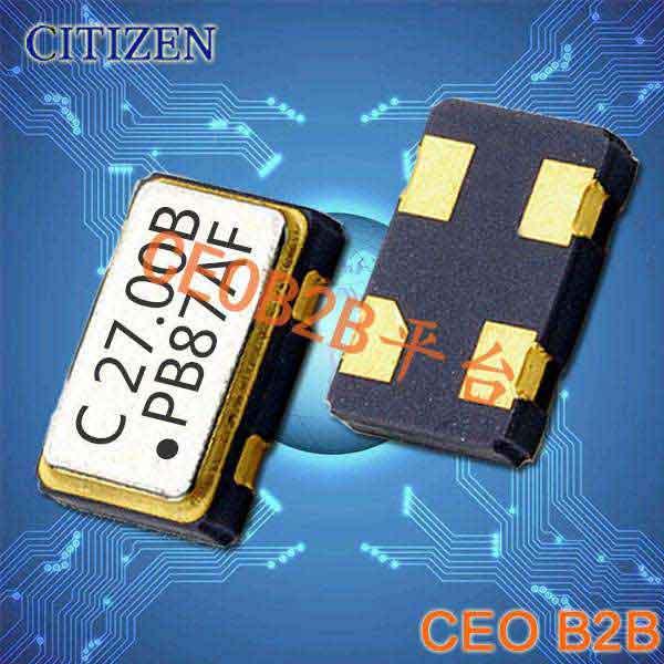 西铁城晶振,有源晶振,CSX-750P晶振