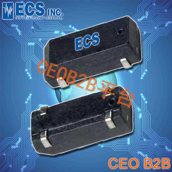 ECS晶振,ECX-306X晶振,ECS-.327-6-17X-TR晶振,陶瓷面晶振