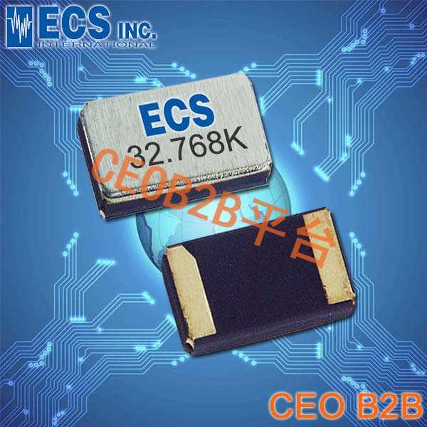 ECS晶振,ECX-31B晶振,ECS-.327-12.5-34B-TR晶振,32.768K晶振