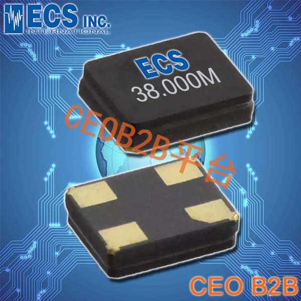 ECS晶振,ECX-1247Q晶振,1612晶振