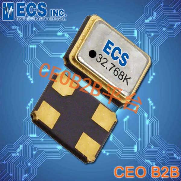 ECS晶振,ECS-327KE晶振,ECS-327KE-TR晶振,3225贴片晶振