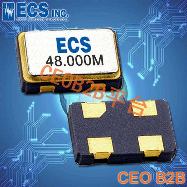 ECS晶振,ECS-3525晶振,ECS-3525-250-B-TR晶振,5032晶振