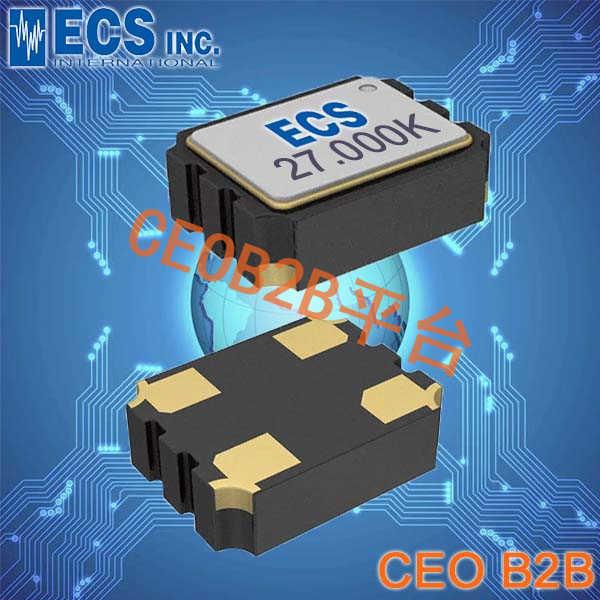 ECS晶振,ECS-3955M晶振,贴片晶振