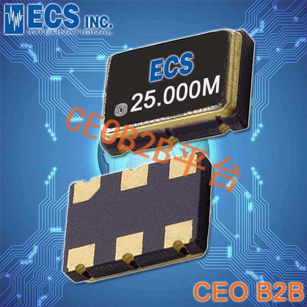 ECS晶振,ECS-VXO-73晶振,ECS-VXO-73-32.768-TR晶振,5070贴片晶振