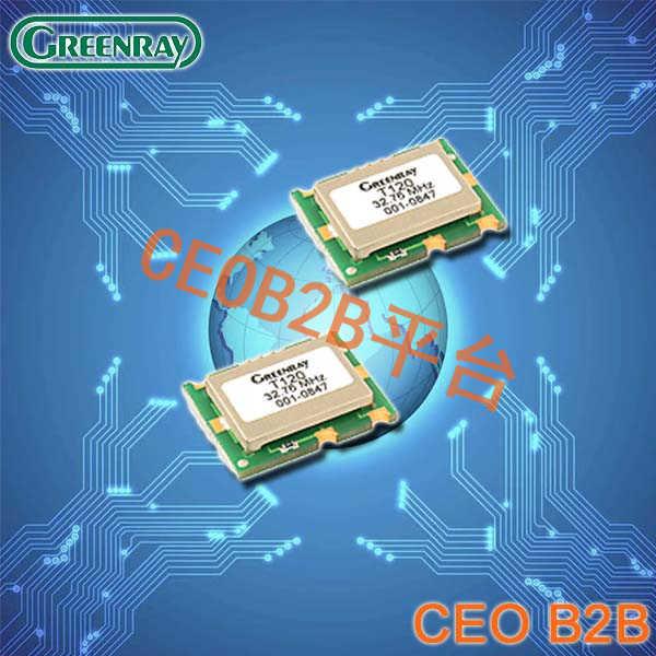 Greenray晶振,温补振荡器,T120晶振
