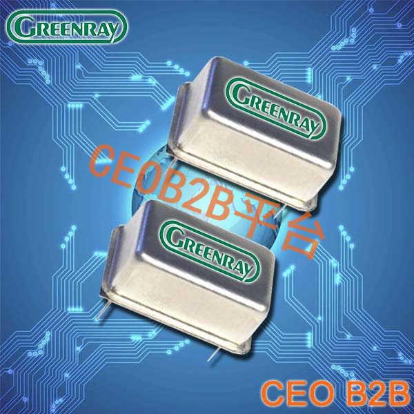 Greenray晶振,XO晶体振荡器,Y1600晶振