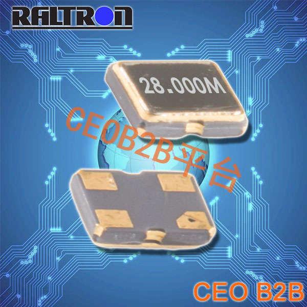 Raltron晶振,COM1晶振,32.768K有源晶振