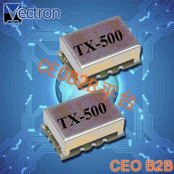 Vectron晶振,温度补偿晶体振荡器,TX-500晶振