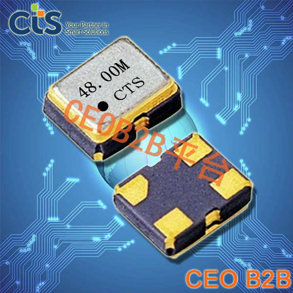CTS晶振,石英晶体振荡器,VFH3225晶振