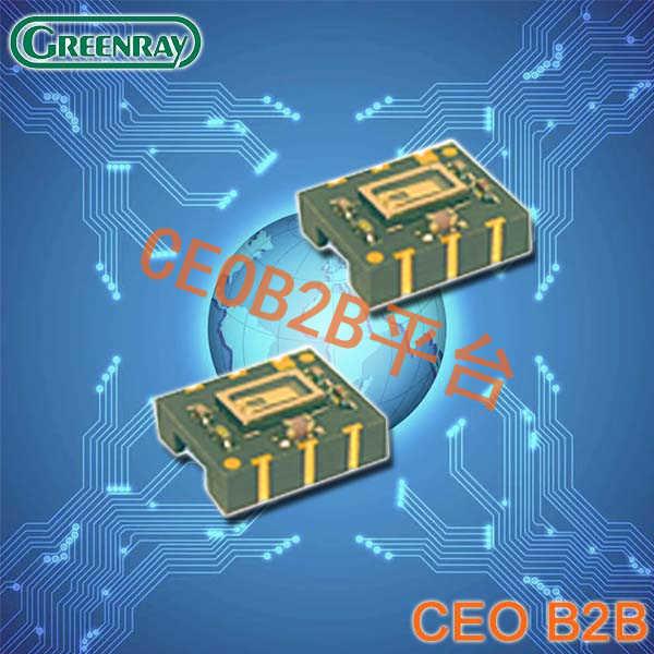 Greenray晶振,石英晶体振荡器,T1307晶振