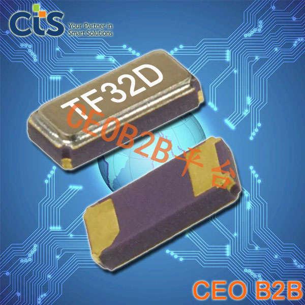 CTS晶振,石英贴片晶振,TFE32晶振