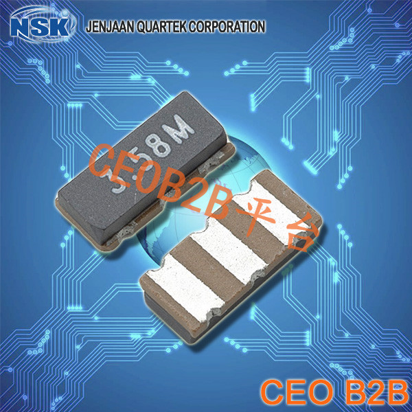 NSK晶振,陶瓷谐振器,NREZTTCS-MX晶振