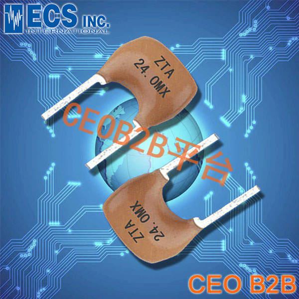 ECS晶振,ZTA晶振,陶瓷谐振器