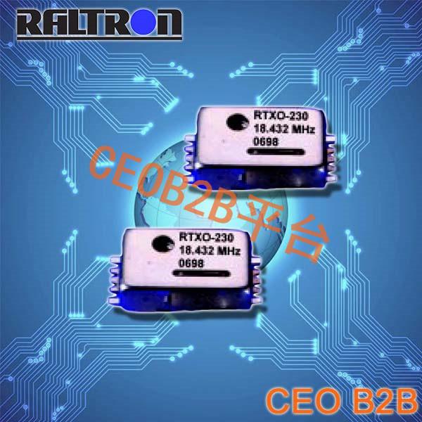 Raltron晶振,RTX-230晶振,温补晶体振荡器