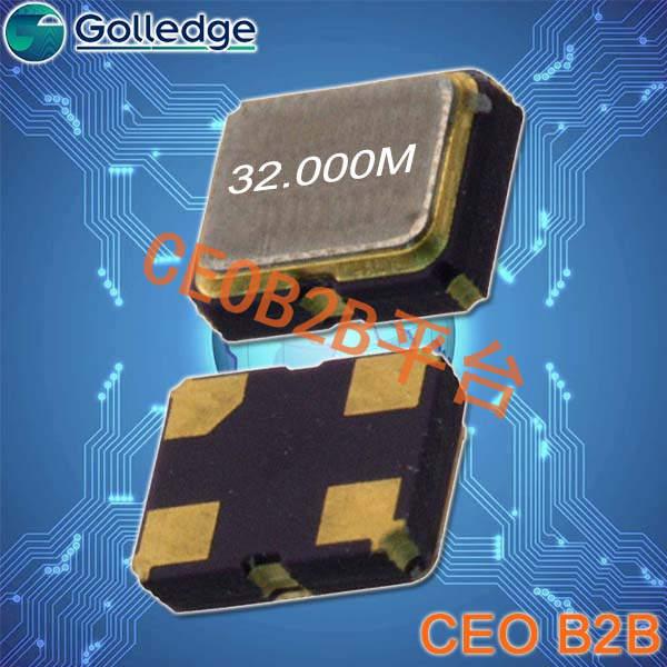 高利奇晶振,石英晶体振荡器,GXO-U121晶振