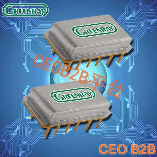 Greenray晶振,时钟晶体振荡器,ZY2000晶振