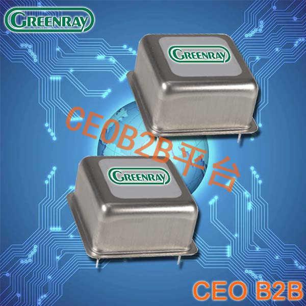 Greenray晶振,进口OCXO振荡器,YH1518晶振
