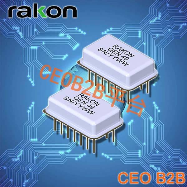 瑞康晶振,石英晶体振荡器,QEN49晶振