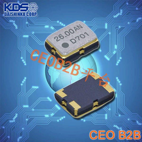 KDS晶振,温补晶振,DSB321SDA晶振,1XTW10000CAB晶振