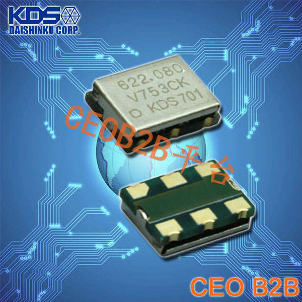KDS晶振,DSV753CK晶振,压控晶振