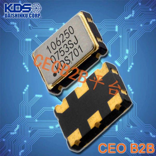 KDS晶振,DSV753SK晶振,贴片型压控晶振