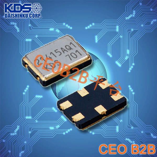 KDS晶振,DSV753SD晶振,压控晶体振荡器