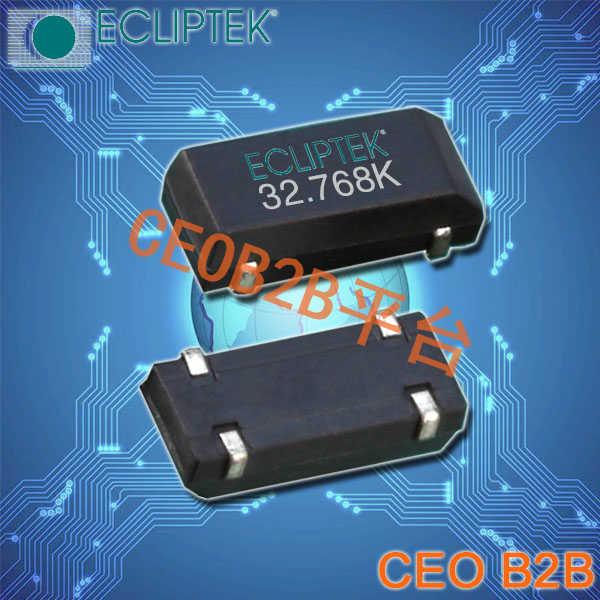 ECLIPTEK晶振,E1WSDA晶振,E1WSDA12-32.768K,32.768K晶振