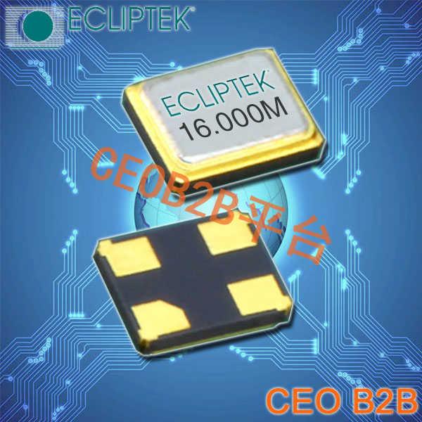 ECLIPTEK晶振,EA1620MA晶振,EA1620MA12-20.000M,2016贴片晶振
