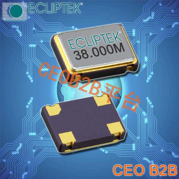 ECLIPTEK晶振,有源晶振,EC2500TS-3.6864M TR晶振,EC25晶振