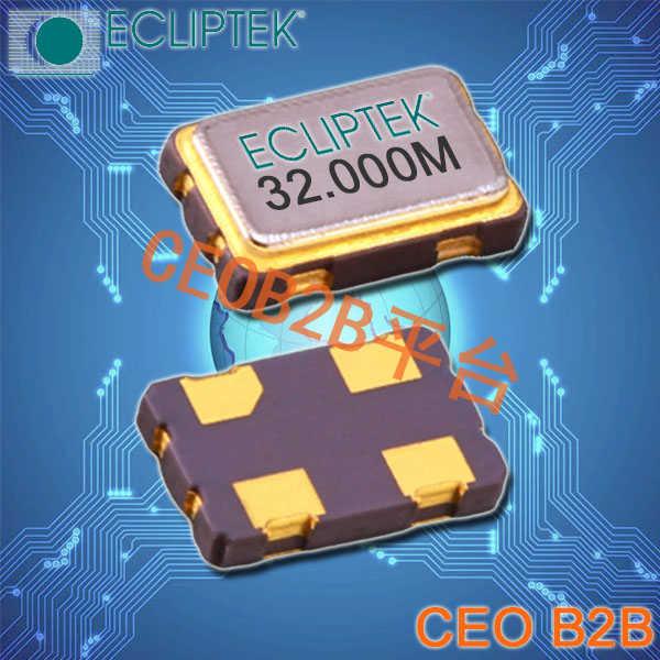 ECLIPTEK晶振,5032有源晶振,EC3645TTS-25.000M晶振