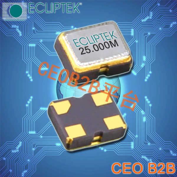 ECLIPTEK晶振,贴片晶振,EH5625ETTTS-48.000M TR晶振