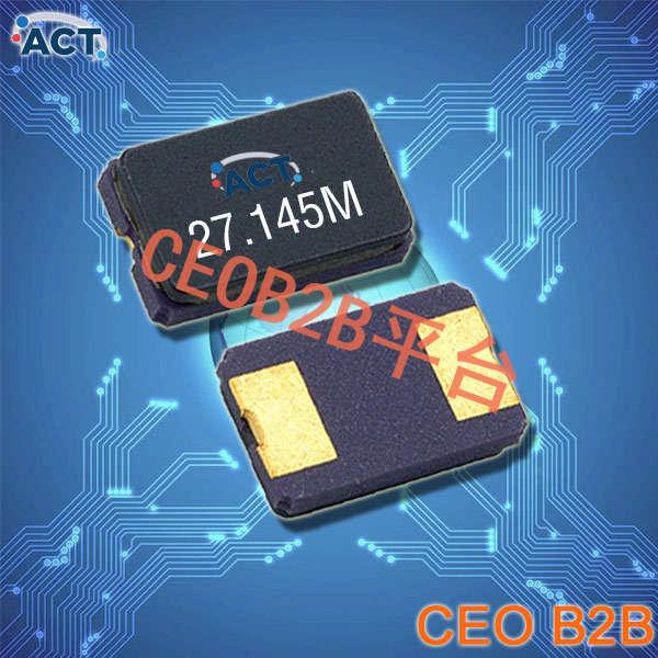 ACT晶振,贴片晶振,533 SMX‐2晶振,陶瓷密封石英水晶振子