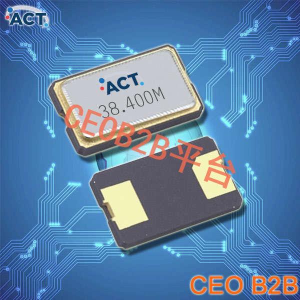 ACT晶振,贴片晶振,752 SMX‐2晶振,两脚金属面宽频晶振