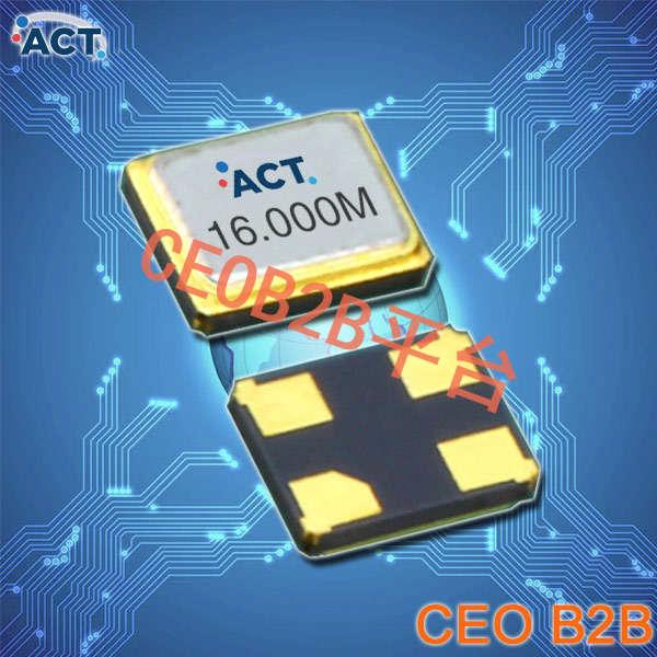 ACT晶振,贴片晶振,1016 SMX‐4晶振,最小无源水晶振子