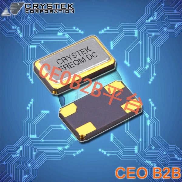 Crystek晶振,贴片晶振,CSX2晶振,6035低调SMD晶体