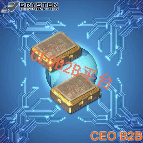 Crystek晶振,温补晶振,CVT25晶振,CVT25-38.400晶振