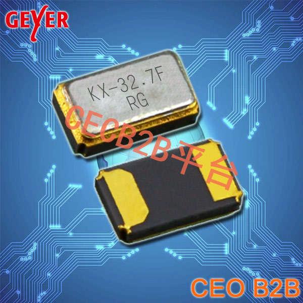 GEYER晶振,贴片晶振,KX-327FT晶振,32.768K晶体谐振器